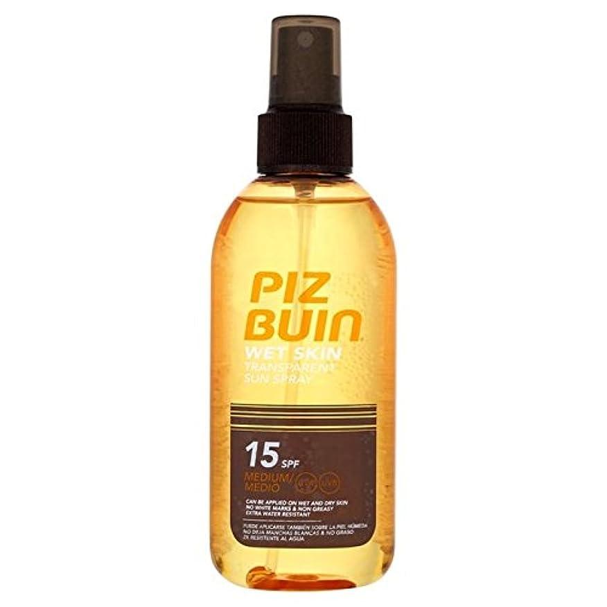 お祝い冷淡なビバピッツブーインの湿った透明肌15の150ミリリットル x2 - Piz Buin Wet Transparent Skin SPF15 150ml (Pack of 2) [並行輸入品]