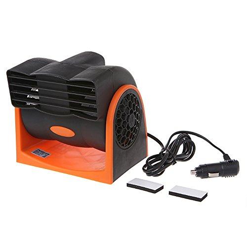 AAPP Shop Ventilatore per Auto Portatile per Veicoli Raffreddamento d'Aria per Camion Raffreddamento Silenzioso Mini condizionatore d'Aria per Auto, 24V