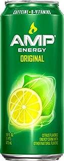 16 Pack - Amp Energy Boost Original - 16oz.