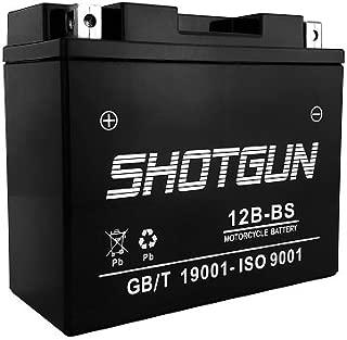 YT12B-BS Sealed SMF Battery for Yamaha 650 XVS650 V-Star All 1998-2011 - Shotgun