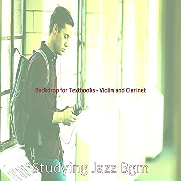 Backdrop for Textbooks - Violin and Clarinet