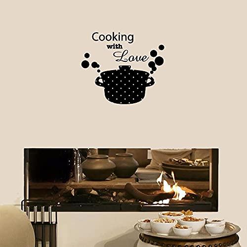 Zdklfm69 Pegatinas de Pared Adhesivos Pared Cocina habitación decoración Pared Arte calcomanía Vinilo Mural Impermeable extraíble 76x88cm