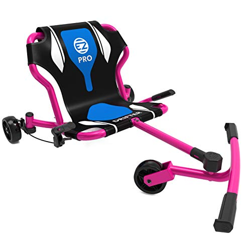 EzyRoller New Drifter Pro-X Ride on Toy for Kids or Adults, Ages 10 and Older Up to 200 lbs. - Pink