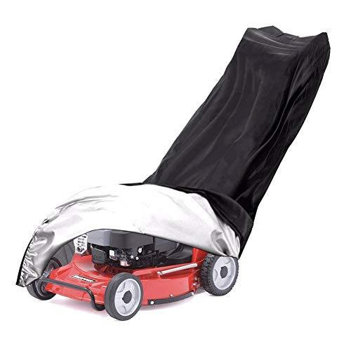 Cife Cubierta para Cortacésped Cubierta Impermeable para Soplador De Nieve Parasol Protección UV Cubierta para Tractor para Patio Jardín Muebles Motocicleta
