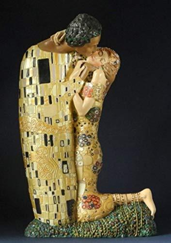 Estatua Museo Replica - El Beso - basado de una obra de Gustav Klimt #21