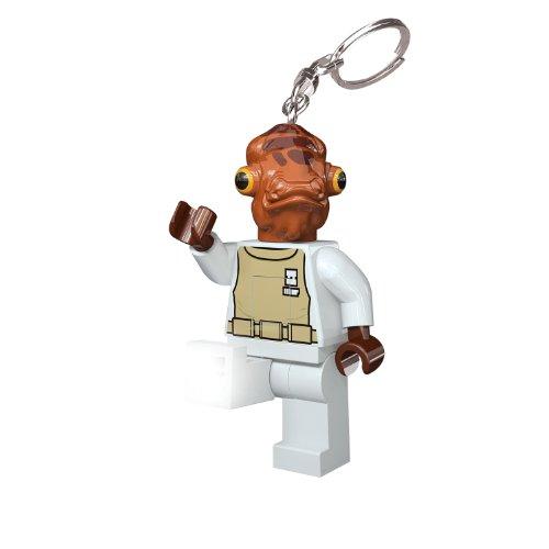 LEGO Star Wars- LGL KE59 Admiral Ackbar Portachiavi LED, Multicolore, Taglia Unica, LGLKE59