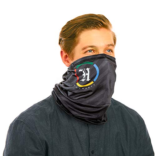 Paladone RESPI-Gaiter Harry Potter Hogwarts Neck Gaiter and Face Cover with 6 Layer Filtration, X-Large