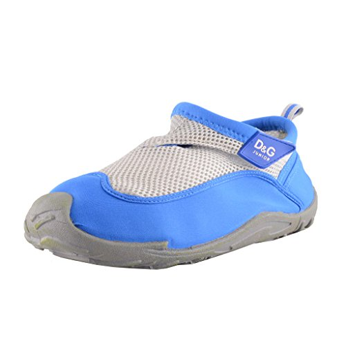 Dolce & Gabbana D&G Junior Blue Slip in Sneakers Shoes US 9 IT 39;