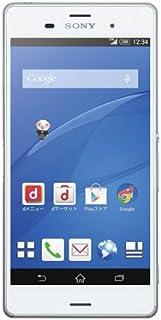 SONY 【SIMロック解除済】docomo Xperia Z3 SO-01G White