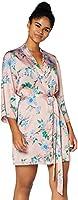 Amazon-Marke: Iris & Lilly Damen Kimono-Morgenmantel aus Satin