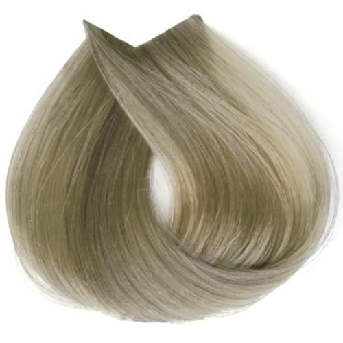 Tahe Organic Care Dauerhafter Farbstoff Haar-Farbe, Nein.100.01 Platinum Natural Ash Blonde, 100 ml