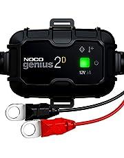 Noco Genius2DEU, direct monteerbaar, 2 A, oplader 12 V, batterijopslag, ontluchter voor batterij met temperatuurcompensatie