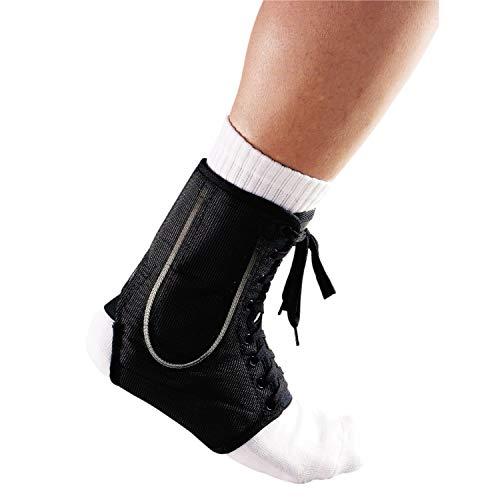 LP Support 787 High Performance Knöchelbandage mit Stabilisierungsstreben - Knöchelstütze Sport, Größe:XS, Farbe:schwarz