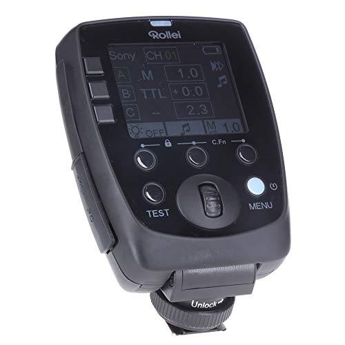 Rollei Universal Funksender Mark II, Blitzauslöser kompatibel mit Sony, Canon, Nikon, Fuji, Olympus und Panasonic