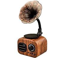 レトロなブルートゥーススピーカーミニ蓄音機クリエイティブギフト