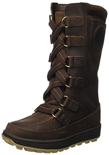 Timberland 8 Inch Lace Up Waterproof (Youth), Botas Unisex niños