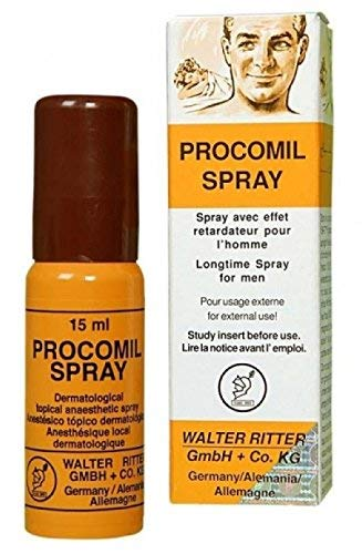 PROCOMIL Mens 15 ml DELAY  Spray AND PROCOMIL DELAY  CREAM  AND THE PUNSHIER PILL (SUPER COMBO) Last Long Stamina Improve Performance PLUS LOVE POTION  PEN