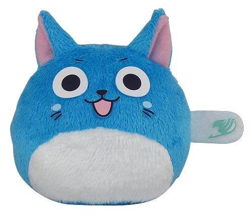 Great Eastern - Anime - Fairy Tail - Happy Dango Series Small Ball Plush, 3-inches