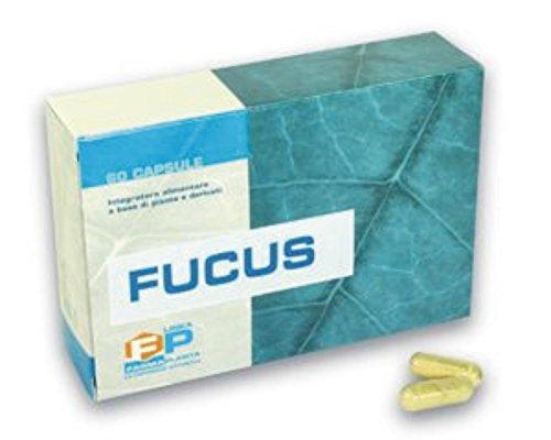 Concentrato puro di Fucus bruciatore di grassi dimagrante drenante 60 capsule 100% vegetali A base di iodio assimilabile, utile come starter nelle diete ipocaloriche.
