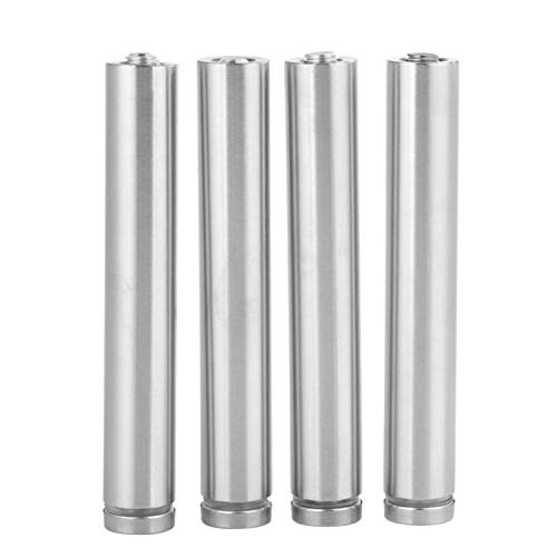 Glass Standoff, 4Pcs Stainless Steel Hollow 19120mm, 19150mm (Optional) Advertise Board Fixing Pins Glass Standoff, with Self Tapping Screws (19120mm)