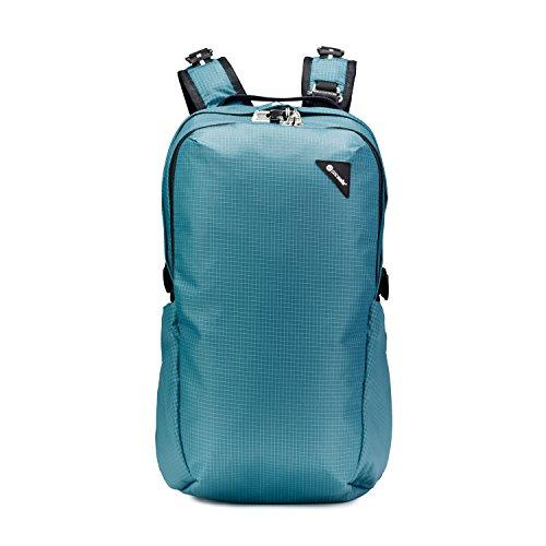 Pacsafe Vibe 25 - Anti-Diebstahl Backpack, Diebstahlschutz Daypack, Rucksack 25 Liter, Türkis/Hydro