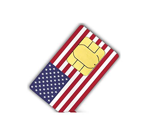 Lyca Mobile USA SIM Karte (1 GB Internet + Festnetz Flat EU)