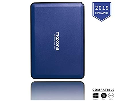 2.5'' Portable External Hard Drives 500GB-USB 3.0 HDD Backup Storage for PC, Desktop, Laptop, Mac, MacBook, Xbox One, PS4, TV, Chromebook, Windows - Blue