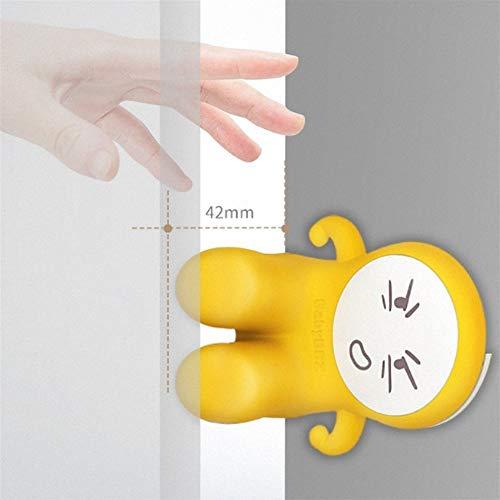 ZREED Eckwächter Kinder Tür-Sicherheits-Finger-Trap-Stoppers Baby-Sicherheits-Finger-Klemmschutz (2 Stück) für Kind (Color : Yellow)