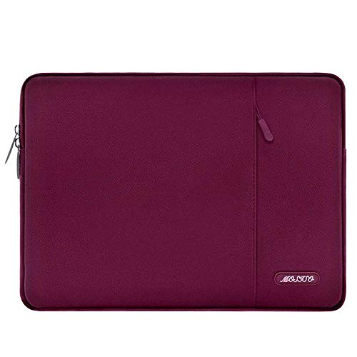 Laptop Sleeve Bag for MacBook Air Pro 13 15 16 Touch Bar Notebook Bag Case 13.3 14.1 15.6 inch-Wine Red_2016-2020 Mac Pro 13