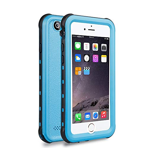 Red Pepper Waterproof For iPhone 6 6s Case 4.7 inch Blue strike proof Snow proof Dirt Proof 3 Protection Case Cover with finger Print
