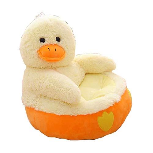 NXYJD Presidente del Respaldo del sofá de Felpa Plegable de los niños Linda del Animal Dulce Asientos Puf Sillón de Juegos Dormitorio (Color : A)