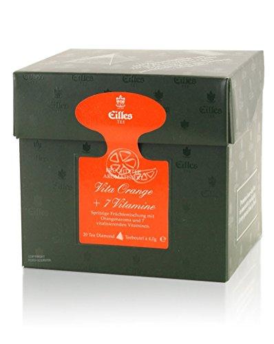 Tea Diamonds Vita Orange + 7 Vitamine 20 Pyramidenbeutel