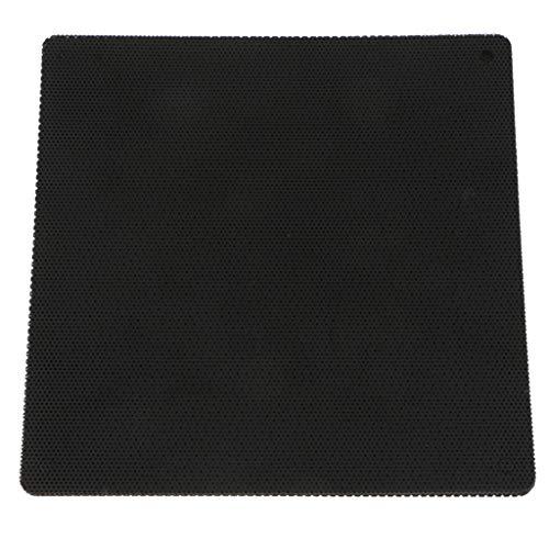 prasku Protector de Filtro de Polvo de Malla a Prueba de Polvo de 10 Piezas para Ventilador de Caja de Computadora PC de 14 Cm Negro