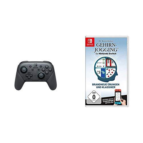Nintendo Switch Pro Controller & Dr. Kawashimas Gehirn-Jogging - [Nintendo Switch]