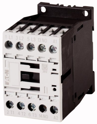 EATON DILM15-10(400V50HZ,440V60HZ) Contactor, 3P, 7, 5kW (AC-3, 400V)