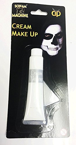 Henbrandt White Face Paint for Halloween Ghost & Zombie effect by Henbrandt