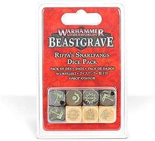 Games Workshop: Warhammer Underworlds: Beastgrave: Rippa's Snarlfang Dice