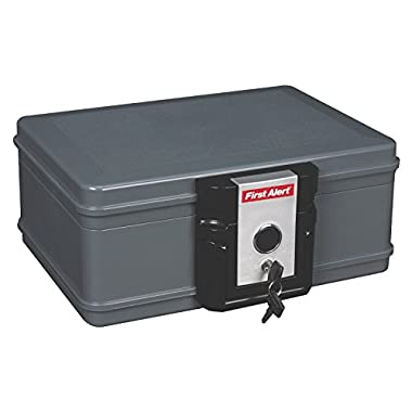 First Alert 2017F Water and Fire Protector File Chest, 0.19 Cubic Feet