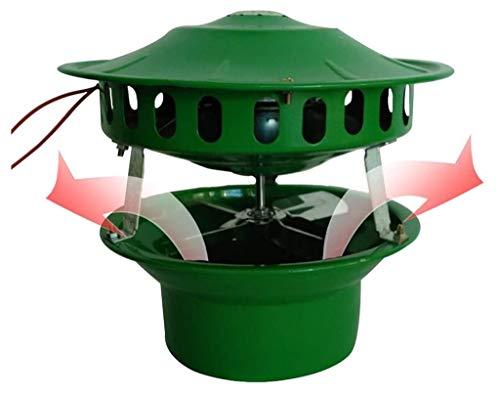 QMZDXH Roof Inducida Chimenea Extractor de Humos, Evacuador de Humo de Chimenea, Aspiradora, Evacuador de Humo de Chimenea Sombrero