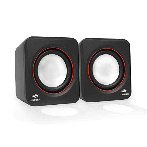 C3TECH SP-301 Speaker 2.0 Altos-Falantes para Computador, Preto