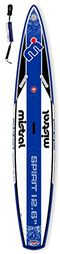 Mistral Spirit Touring-Race 12'6 mit Fusion Layer Technologie Standup Paddel Board aufblasbar inkl. SUPwave.de Coil-Leash, Stand up Paddle Board i SUP