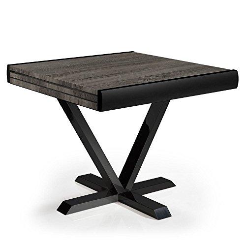 Menzzo Newick Table, M.D.F, Bois Vintage, 90 x 180 cm