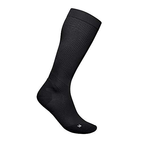 BAUERFEIND Women's Run Ultralight Compression Socks Laufsocken, Schwarz, M, 38-40