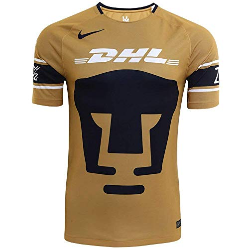 NIKE 2017-2018 Pumas 3rd Jersey- Gold/Navy S