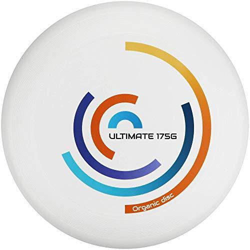Eurodisc Ultimate Frisbee 175g Rotation wettkampfharte Wurfscheibe mit Stabiler Flugbahn über 100 Meter für Freizeitspieler und Profis gleichermaßen (EISVOGEL)
