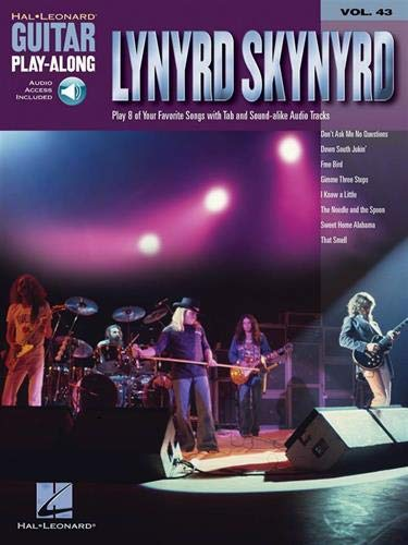 Guitar Play-Along Vol.043 Lynyrd Skynyrd + Cd