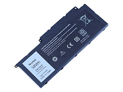 Replacement BEYOND Battery for DELL Inspiron 17 7737 15 7537 Series. DELL F7HVR T2T3J G4YJM 062VNH. [14.8V 58Wh, 12 Months Warranty]