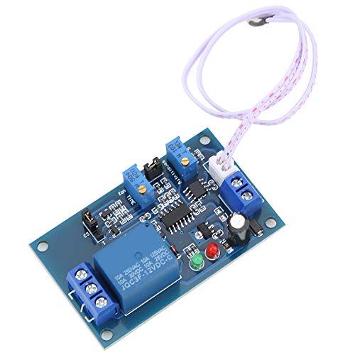 Módulo de Relé, Módulo de Relé Fotosensible XH-M131, Luz de Inducción Sin Luz - Interruptor Ajustable de Retardo Controlado, con Multifunción, Calidad Estable y Confiable(12V)