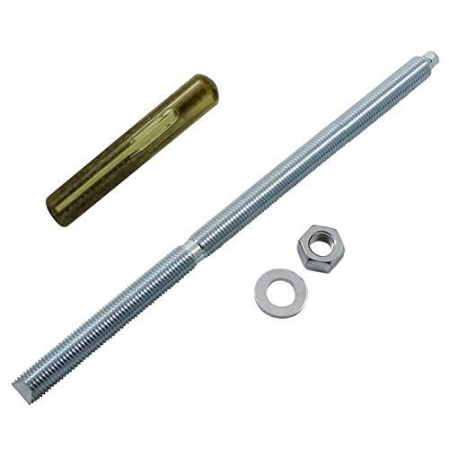 Ankerstange M16 x 350mm + Verbundankerpatrone Schwerlastdübel ; verzinkt