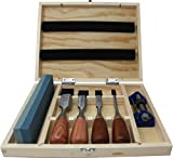 Best Chisel Sharpeners - 6 Piece Premium Rosewood Woodworking Chisel Set Review